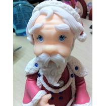 Hermoso Papa Noel En Porcelana Fria