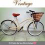 Bicicleta Vintage Dama La + Buscada Retro