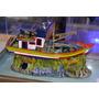 Enfeite Para Aquário - Barco Traineira - B20