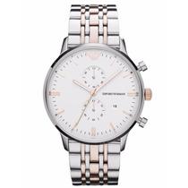 Relógio Emporio Armani Ar0399 Original Misto Rose Garantia