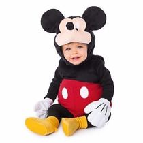 Traje De Mickey Mouse Para Bebé Disney Store ( 6-12 Meses )