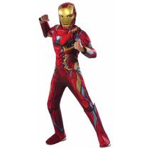 Marvel Traje De Iron Man Disfraz Rubies Niño 5/7 Años