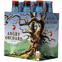 Cidra Angry Orchard Crisp Apple (355ml) Pack 6 Unid.
