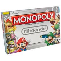 Monopoly Monopolio Nintendo Mario Edición De Colección