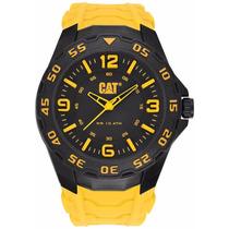 Reloj Cat Lb.111.27.137 Amarillo Negro Original Envio Gratis