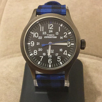 Timex Expedition Fechador Correa Nylon Azul Tw4b02100 ..