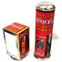 Kit Porta Canudo E Guardanapo Alumínio Estampa Coca-cola