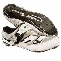Zapato Ruta Shimano Sh-wr82 Talla 44 Eu, 7.5 Mx Blancas