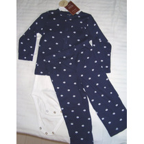 Set Pijama Elefante Carter´s Bebe 12 Meses Nuevo Oferta!