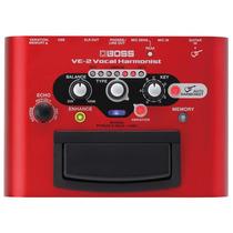 Pedal Vocal Harmonist Ve-2 Boss, Movido A Pilhas