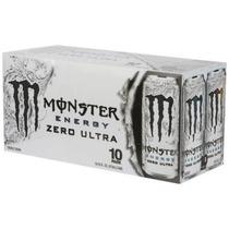 Monster Energy Drink Cero Ultra 16 Fl Oz 10 Pack