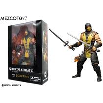 Mortal Kombat X - Scorpion - 30 Cm Escala 1/6 - Mezco - Novo
