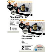 Apostila Impressa Polícia Civil Pc-sp 2017 - Perito Criminal