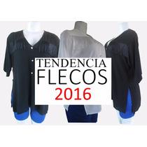 Blusa Con Flecos De Dama Blusones 2016 Somos Fabricantes