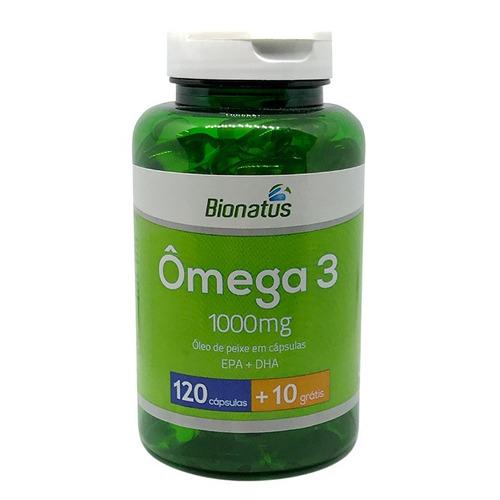 3ced7ecd440 Omega 3 Oleo Peixe Epa + Dha 130 Capsulas - Bionatus - R  57