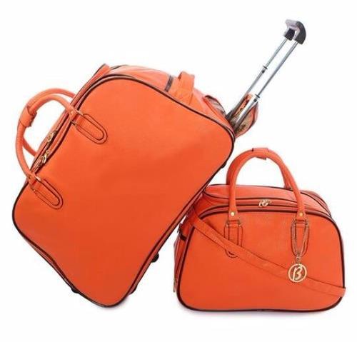 Bolsa De Mão R$ : Mala de viagem com rodinhas bolsa m?o em couro