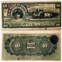 Billete Banco De Sonora 10 Pesos Firmado 1911