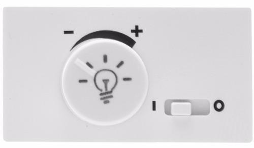 Dimmer Rotativo Leviton, Color Blanco, Línea Modular - $ 579.64 en ...