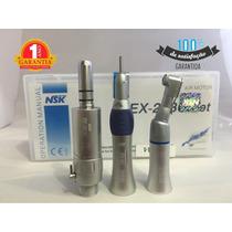 Kit Odontológico Baixa Rotação Nsk Ex203c Set Garantia