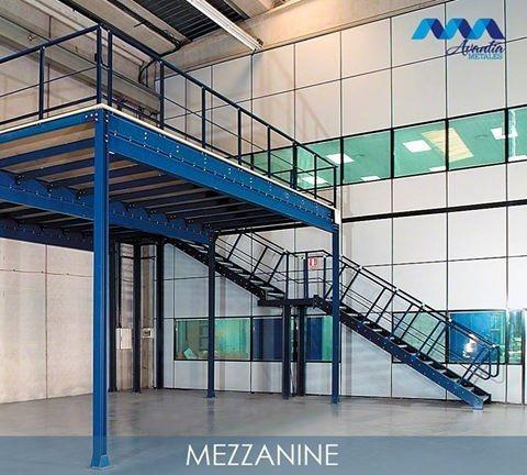 Mezzanines Y Tapancos De Estructura Metálica En Queretaro