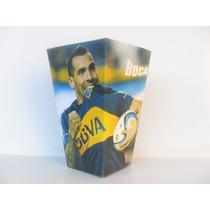 Cono Para Pochoclos Y Golosinas Boca Juniors Pack X40