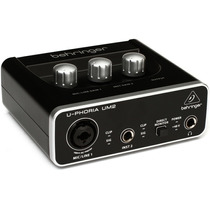 Behringer U-phoria Um2 Interface Usb Calidad Preamp Phantom