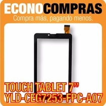 Touch Tablet China 7 Universal Yld-ceg7253-fpc-a07 100% Nva!