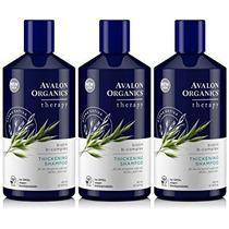 Avalon Organics Champú, Biotina Del Complejo B, Espesantes