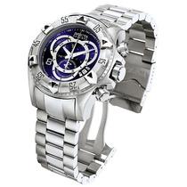 Relógio Invicta 5526, 52mm Excursion Azul Suíço Original
