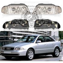 Farol Audi A4 De 1999/2000 Aplicável Ano 1995/1998 Novo Dir.