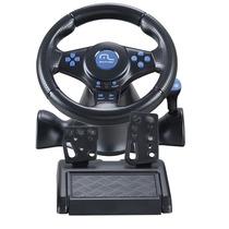 Volante Multilaser Racer Para Ps2 Ps3 E Pc - Preto - Js073