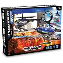 Helicóptero Controle Remoto Heli Splash Atira Água Dtc
