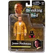 Mezco Breaking Bad Jesse Pinkman Yellow Hazmat Suit