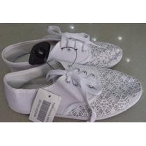 Zapatos Blancos Para Dama