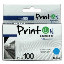 Cartucho Printon Compatible Lexmark, 14n0900e. Cyan