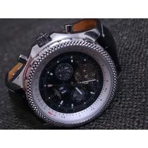 Vendo Relógio Autómatico Prata Couro 1884 B-motors Novo