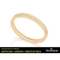 Rommanel Aliança Anel Fo Ouro 18k Noivado Compromisso 511880