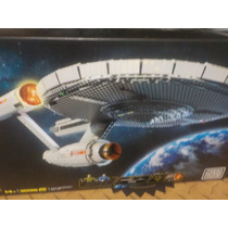 Nave Enterprise Ncc-1701 De Star Trek De Mega Bloks
