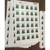 Selo De Carta 1º Porte Comercial Folhas 30 Unid. Correios