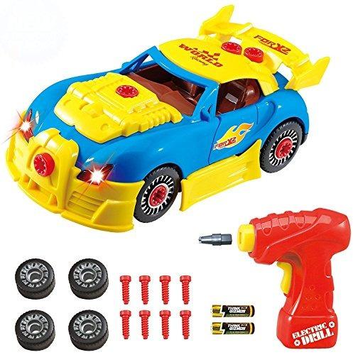 Take Apart Juguete Carreras Carro Kit Ninos Tg642 Version2 C