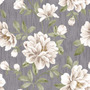 Papel De Parede Flores Brancas Estilo Tecidoadesivo Contact