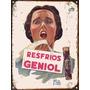 Cartel De Chapa Vintage Publicidad Antigua Geniol M625