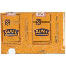 Marquilla De Cigarrillos Reval Argentina 1972