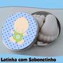 20 Latinha Com Sabonetinho\ Lembrancinha De Maternidade