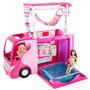 Hermanas Barbie Familia Camper