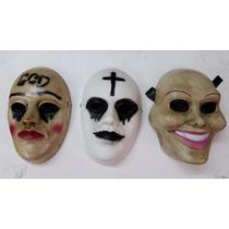 Mascaras Halloween La Purga, Jason, Anonymus,bozal Hannibal