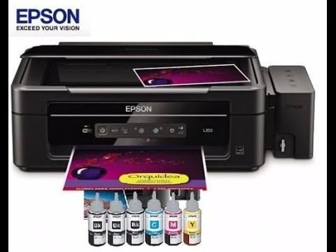 Impresora Multifuncional Epson L380 Con Sistema De Fabrica