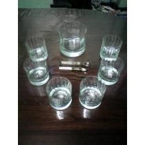 Juego De Vasos De Whisky Y Hielera