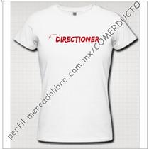Playera One Direction Playera Directioner 1d Cycv