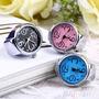 Relógio Dedo Anel Flexível Feminino Analógico Promoção